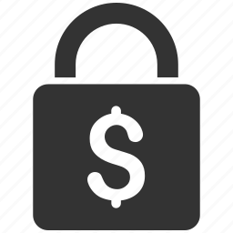 bank, lock, padlock, protection, safe, safety, security icon