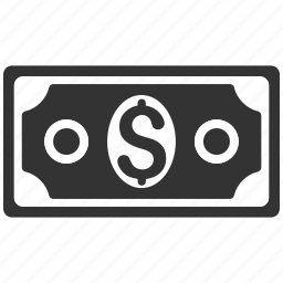 bank, banknotes, cash, currency, dollar banknote, finance, financial icon