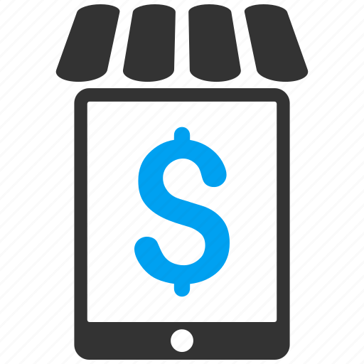 market, mobile shop, pda, phone, shopping, web store, webshop icon