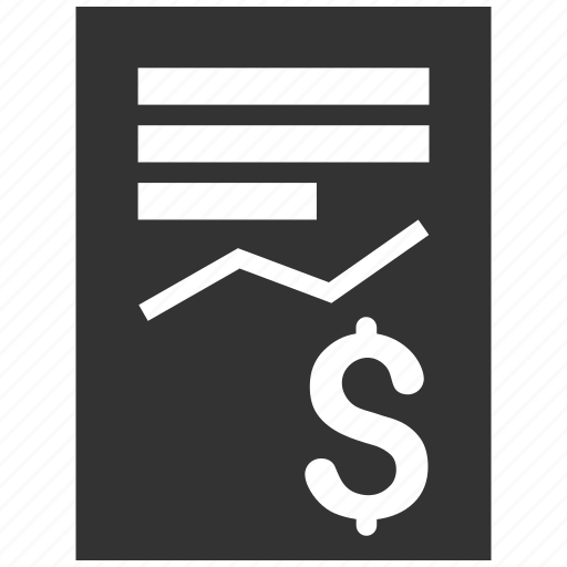 business report, chart, diagram, finance, financial, graph, statistics icon