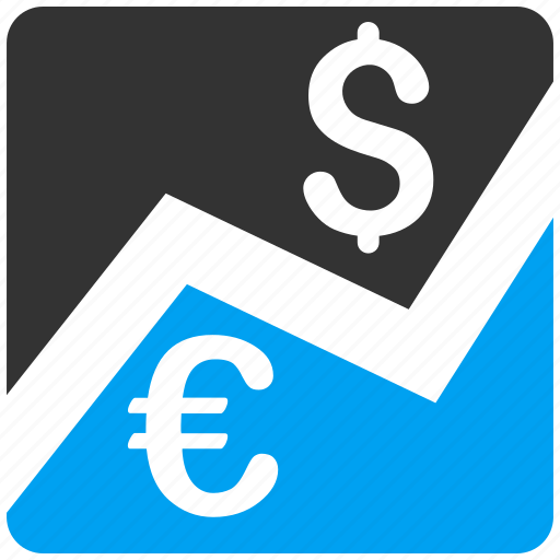 business, currency exchange, dollar, euro, finance, forex market, money icon
