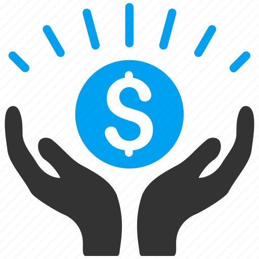 business project, finance, financial, hands, money, prosperity, success icon