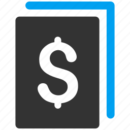 banking, file, finance, financial document, page, paper icon