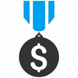 achievement, award, best, business, medal, prize, win icon