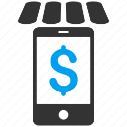 cellphone, message, mobile shop, phone, shopping, web store, webshop icon