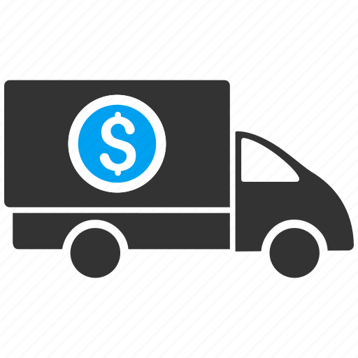 finance, financial, logistics, money delivery, shipment business, shipping, transportation icon