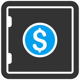 bank, banking, box, deposit, protection, safe, safety icon