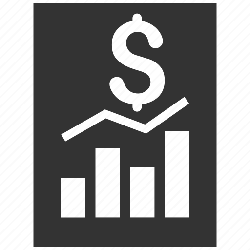 business, chart, finance, graph, money, sale report, sales icon