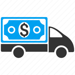 collector car, finance, financial, money delivery, shipment business, tax, transportation icon