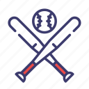 american, baseball, hardball, pitch, softball, sport icon