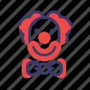 carnival, circus, clown, jester, joker, mcdonalds icon