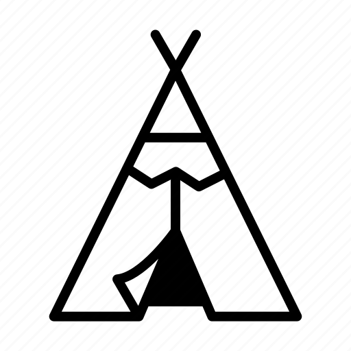 American, indian, native, red indian, teepee, tent, tribal icon - Download on Iconfinder