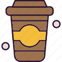 beverage, drink, outing, usa icon