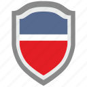 national, scalable, shield, usa icon