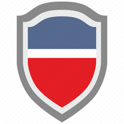 national, scalable, shield, usa icon