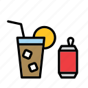 beverage, coca-cola, coke, drink, pop, soda, soft-drink icon