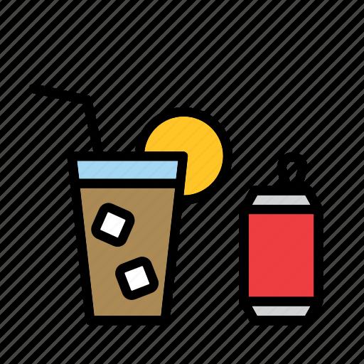 beverage, coca-cola, coke, drink, pop, soda, soft-drink icon