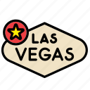 america, american, las vegas, sign, states, united, usa icon