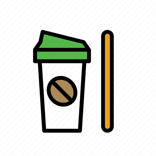 bean, beverage, coffee, drink, mug, travel mug icon