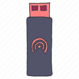 datacard, device, memory, pendrive, stick, usb, wireless icon