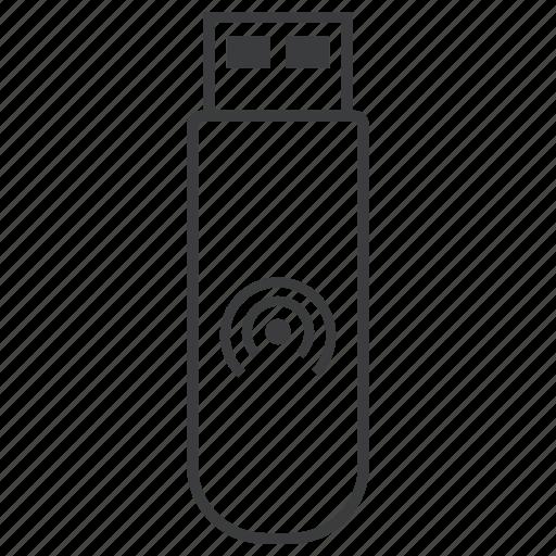 datacard, device, internet, pendrive, stick, usb, wireless icon