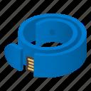 bracelet, cartoon, computer, drive, isometric, technology, usb
