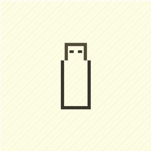 device, memory, technology, usb icon