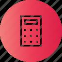 acount, calculate, calculator, math icon