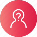 fak, help, info, question icon