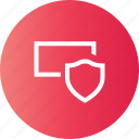encrypted, password, protected, secured icon
