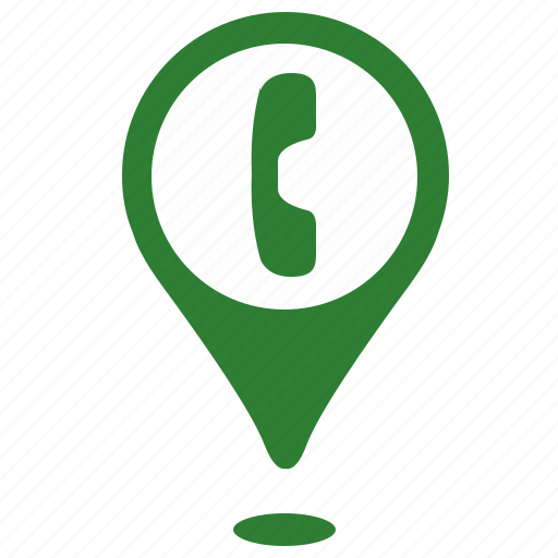 call, connection, dial, geo, phone, place, point icon