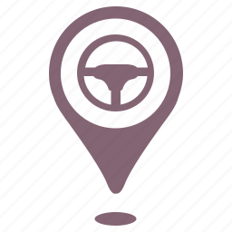 car, drive, geo, move, point, position icon