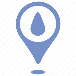 drop, fluid, geo, location, oil, point, water icon