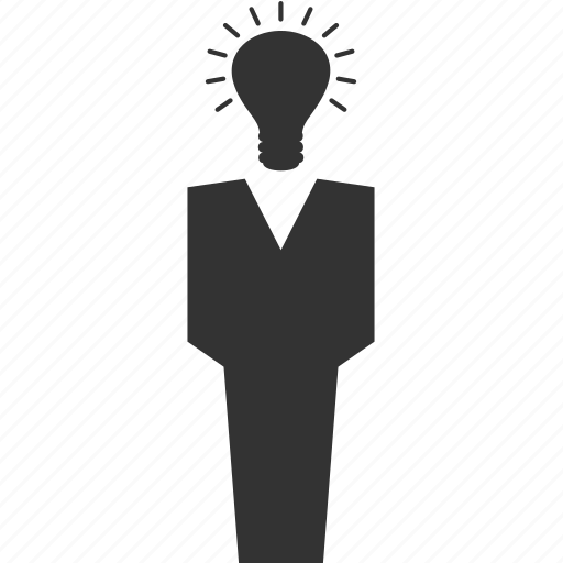 avatar, bulb, lamp, people, person, user icon