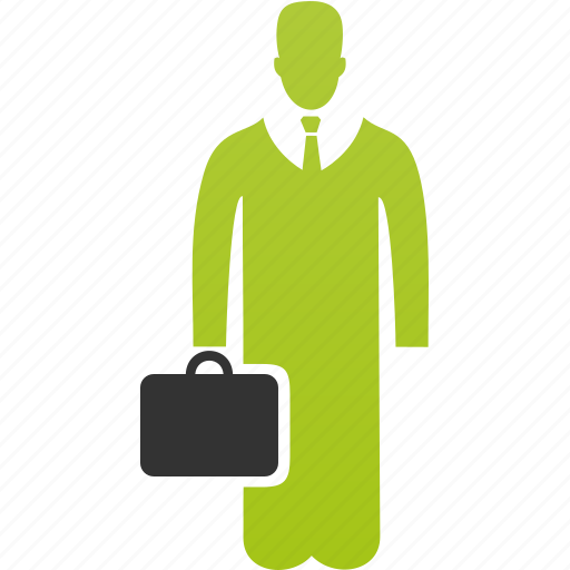 bag, man, people, person, portfolio, user icon