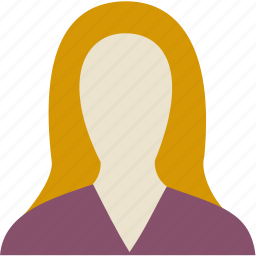 avatar, girl, people, person, user, woman icon