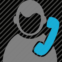 avatar, man, person, persona, phone, user icon