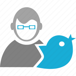 avatar, bird, man, person, user icon