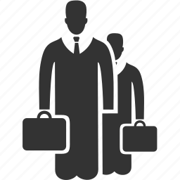 avatar, bag, business, people, suitcase, user icon