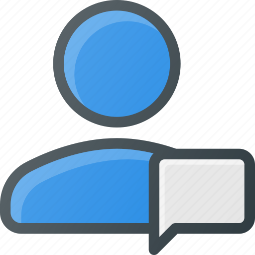action, chat, comment, message, people, user icon