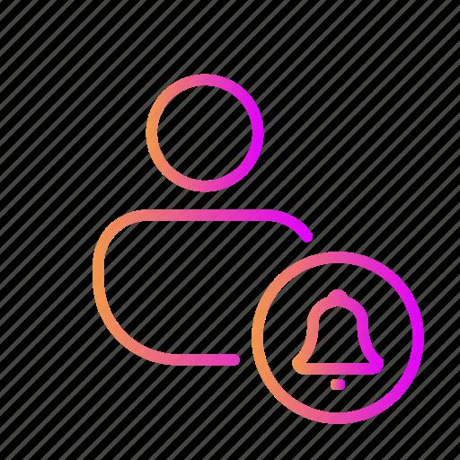 alarm, alert, bell, gong, notification, reminder, ring icon
