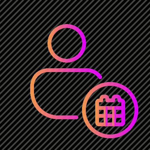 calendar, date, end date, event, meeting, schedule, start date icon