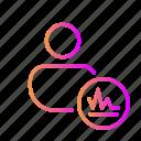 account analytics, account stats, area graph, profile analytics, profile stats, user analytics, user stats icon