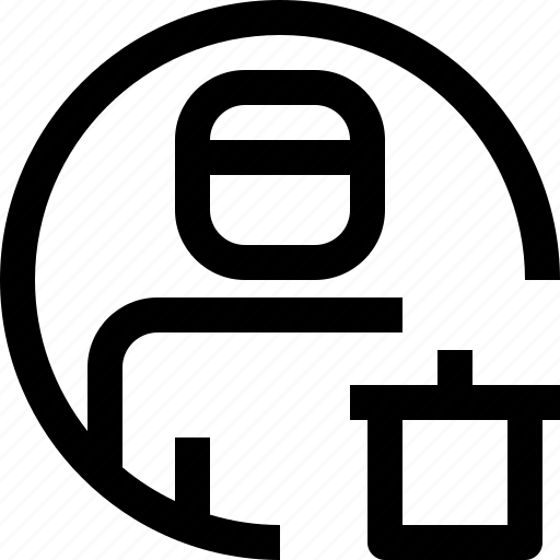 avatar, bin, face, people, person, profile, user icon