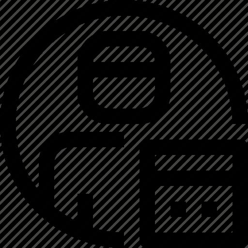 avatar, calendar, face, people, person, profile, user icon