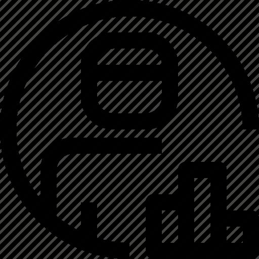 avatar, face, graph, people, person, profile, user icon