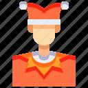 avatar, career, joker, people, person, user