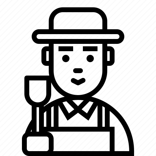 avatar, character, farm, farmer, person, smiley, user icon