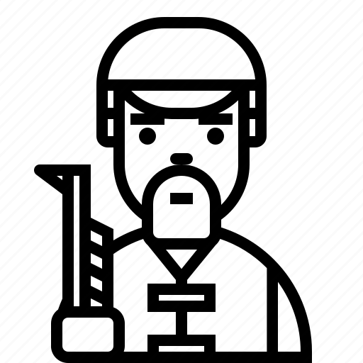 avatar, character, face, hunter, man, person, user icon