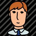 business man, man, user, avatar, users